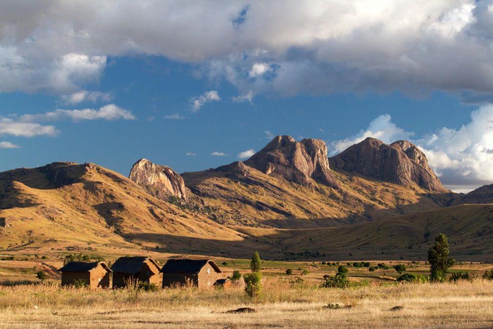 Village près de l'Andringitra