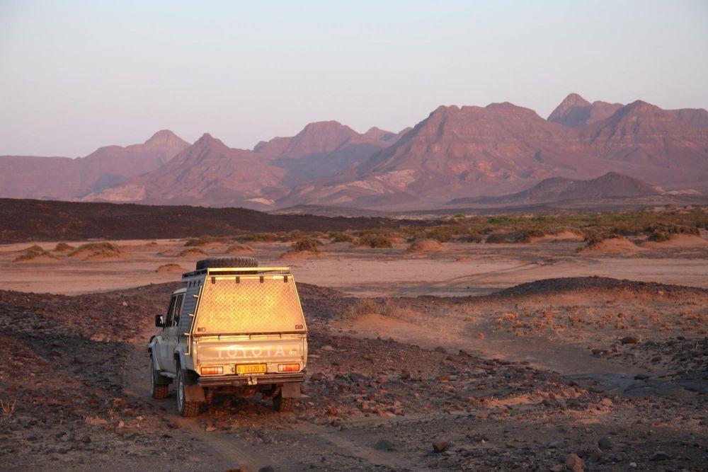 4x4 désert Namib