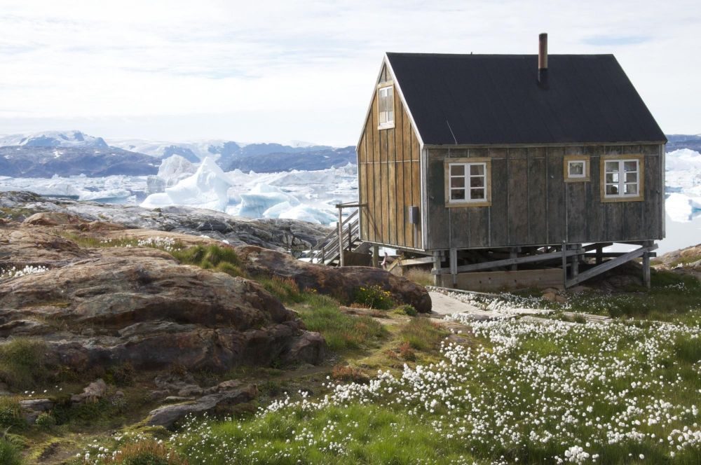 Maison à Tiniteqilaq au Groenland