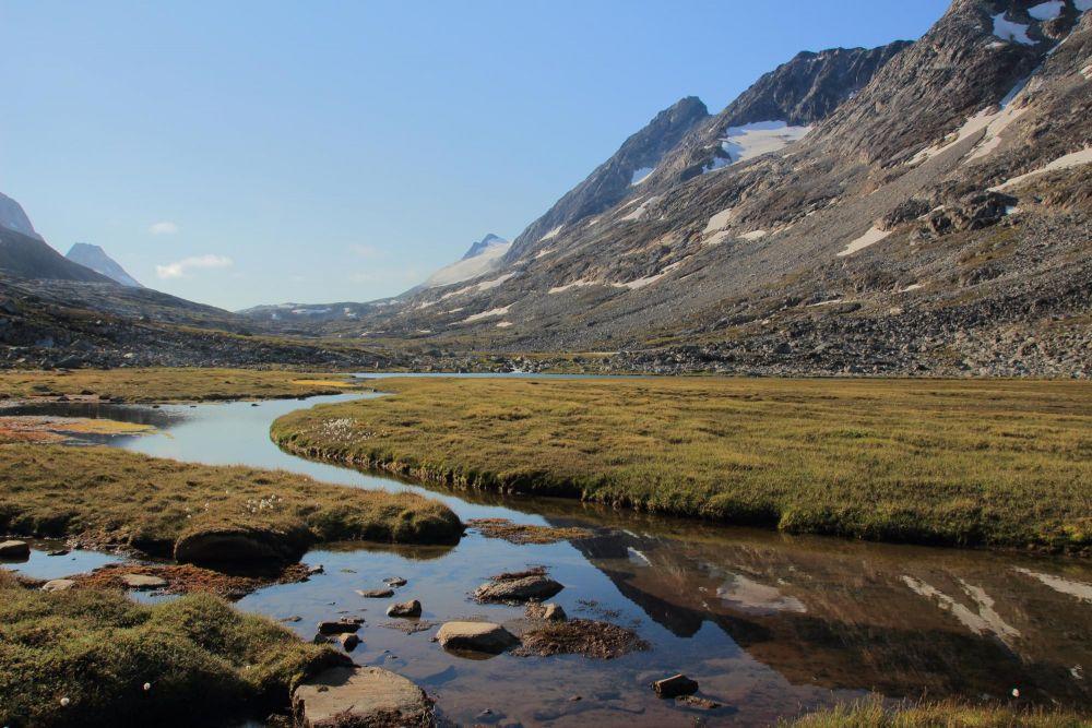 Excursion dans les terres Fjord Sermilik au Groenland