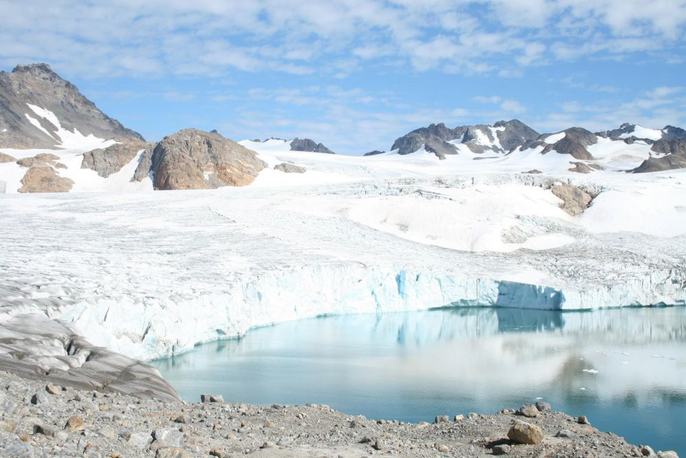 Rives d'un fjord au Groenland