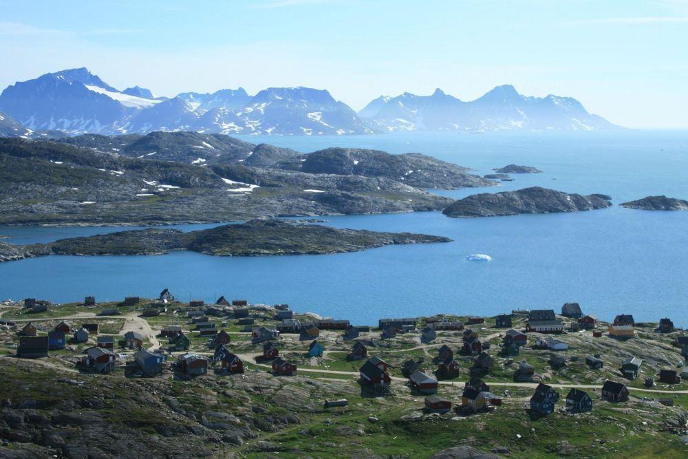 Village de Kunemiut au Groenland