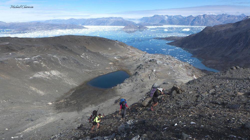 Trekking au Schweizerland au Groenland