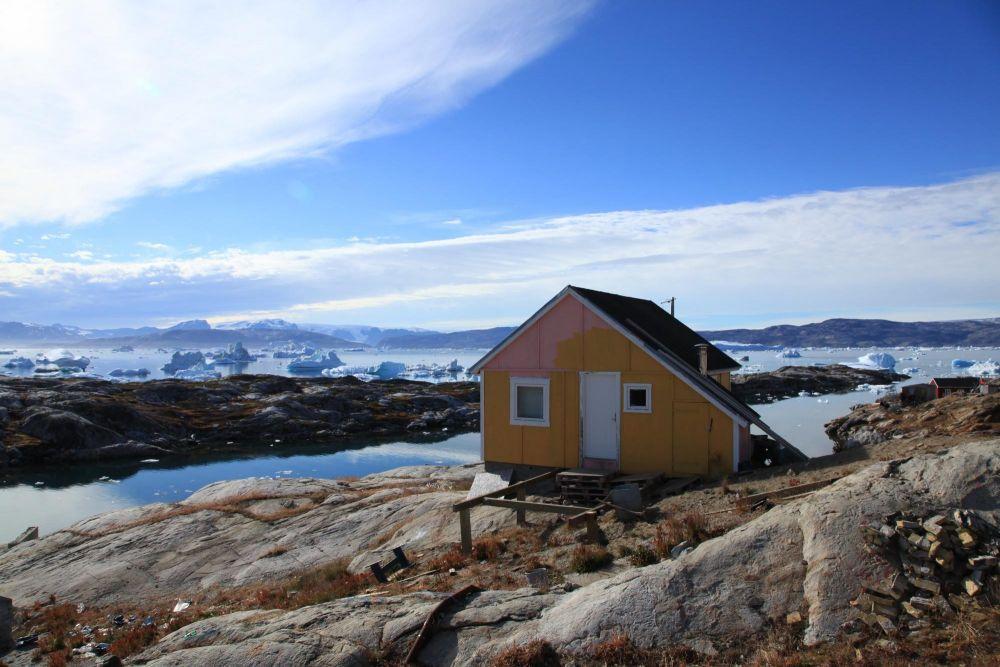 Maison à Tiniteqilaaq au Groenland