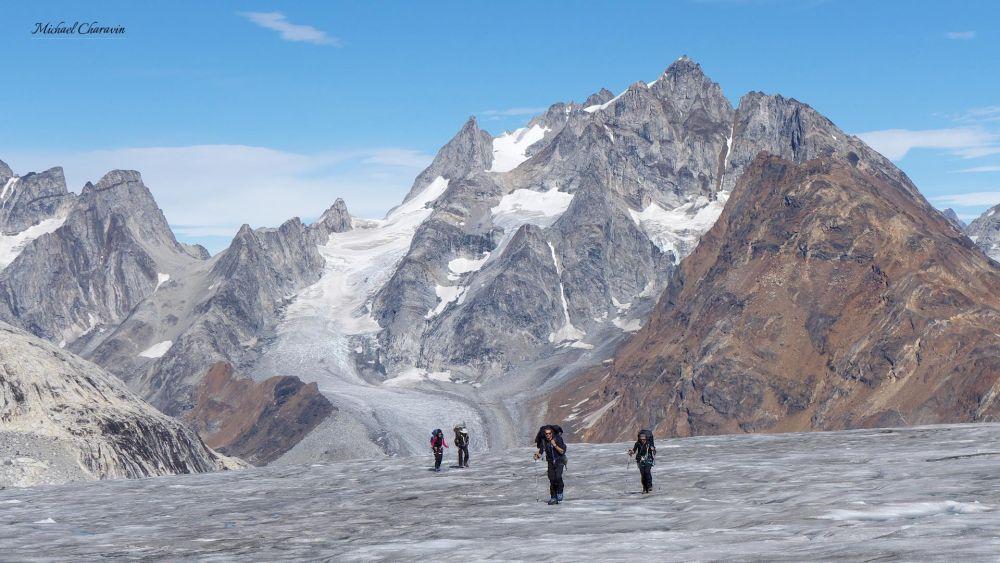 Trekking au Groenland dans le Schweizerland