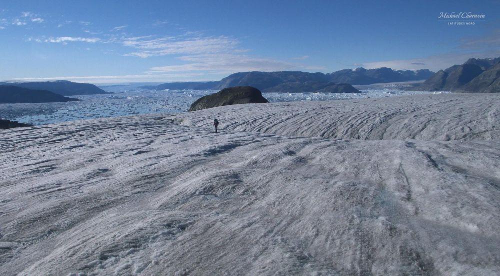 Trek au Groenland dans le Schweizerland