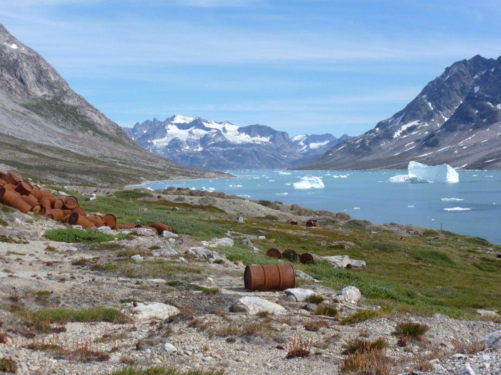 Ancienne base d'Ikateq au Groenland
