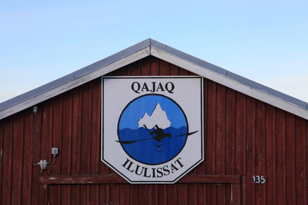 Le club de Kayak de Ilulissat dans la baie de Disko au Groenland
