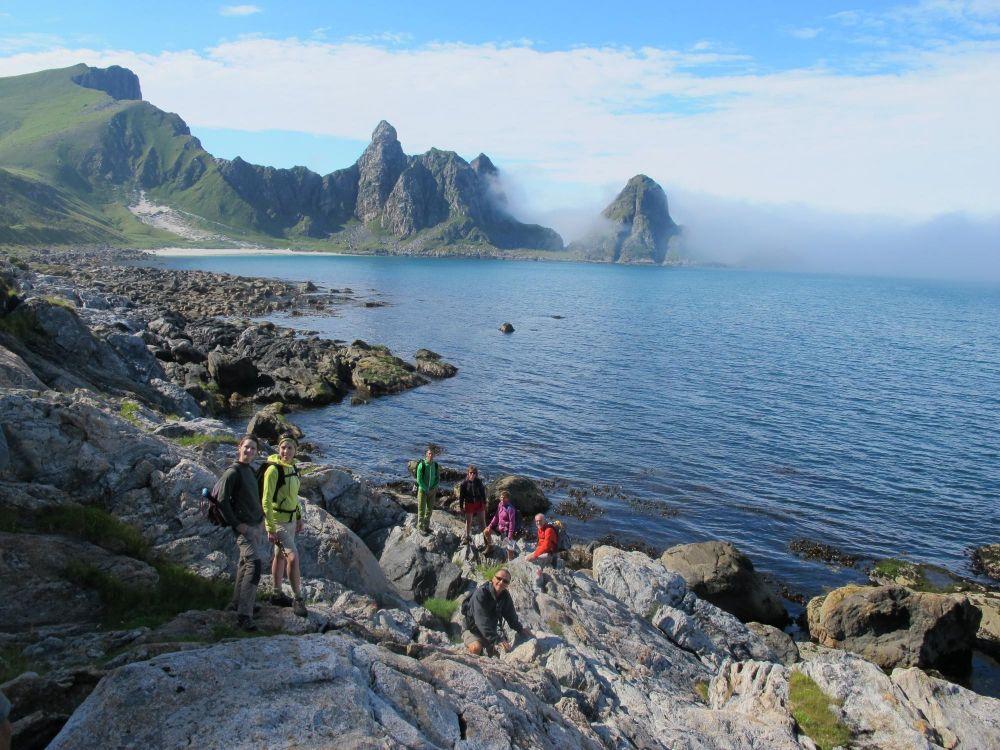 Les îles Lofoten en Norvège