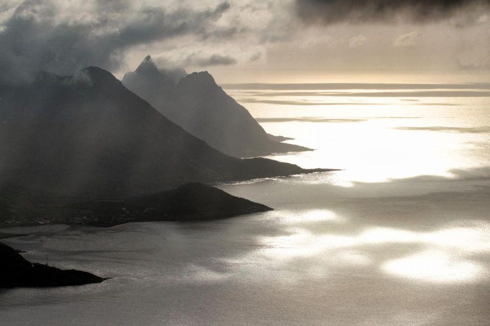 Randonéne sur l'île de Senja en Norvège
