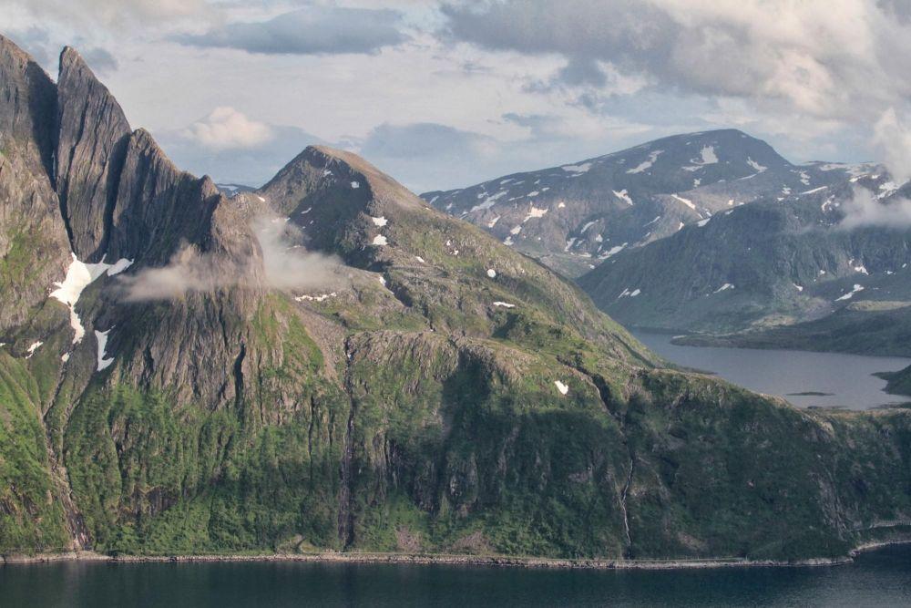 Trek sur l'île de Senja en Norvège