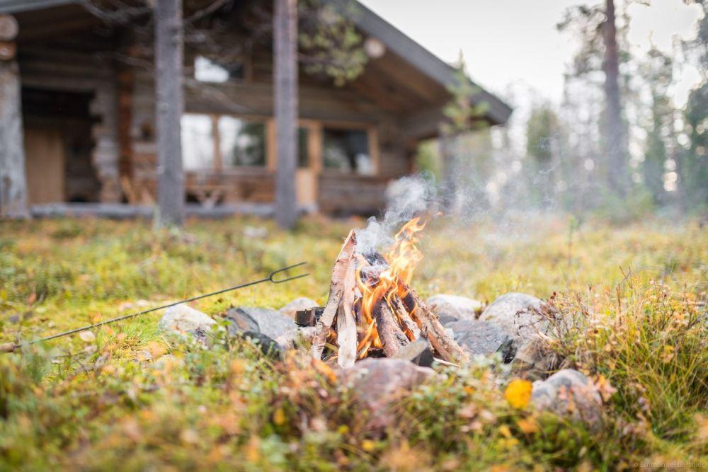 Notre chalet en Laponie, finlande