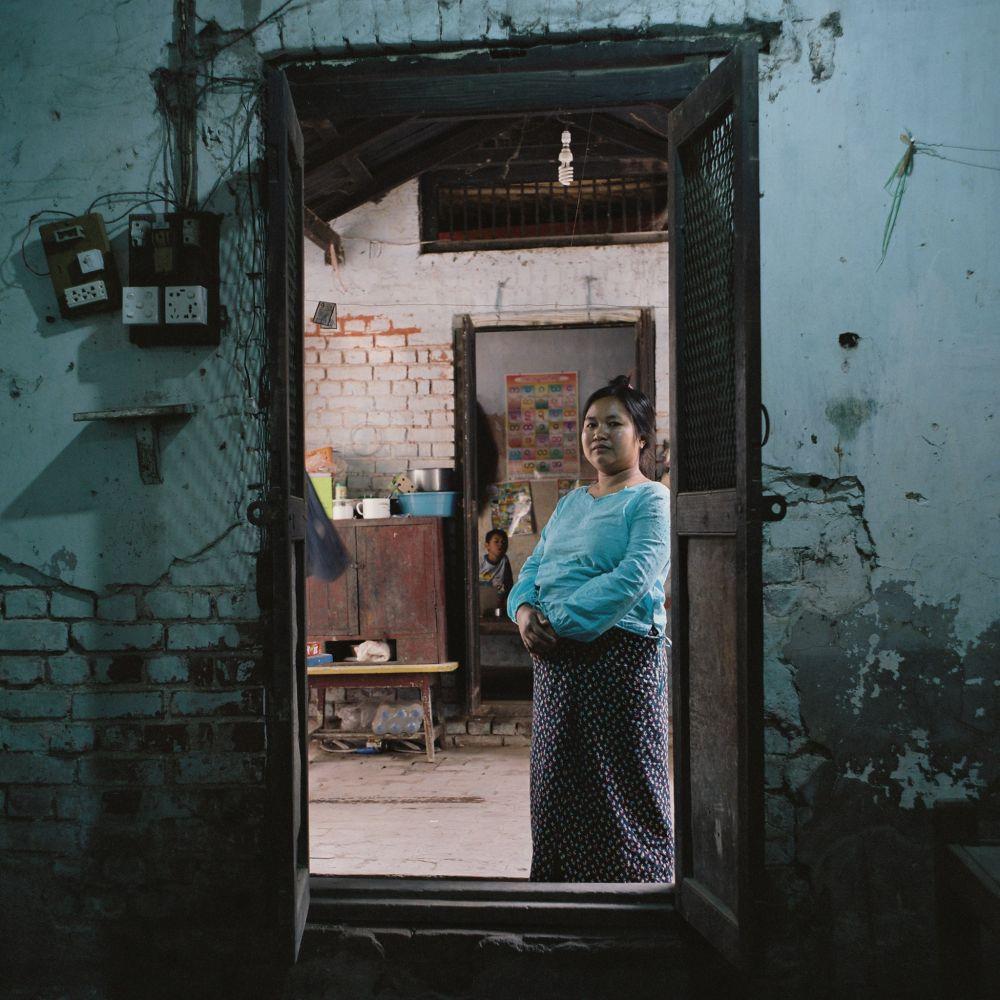 Intérieur birman, lors du voyage photo en Birmanie