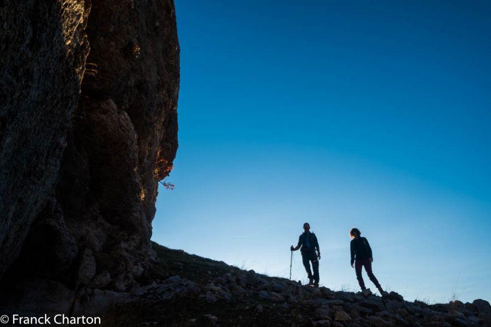 Ombres chinoises dans le massif du Dévoluy hors sentiers battus