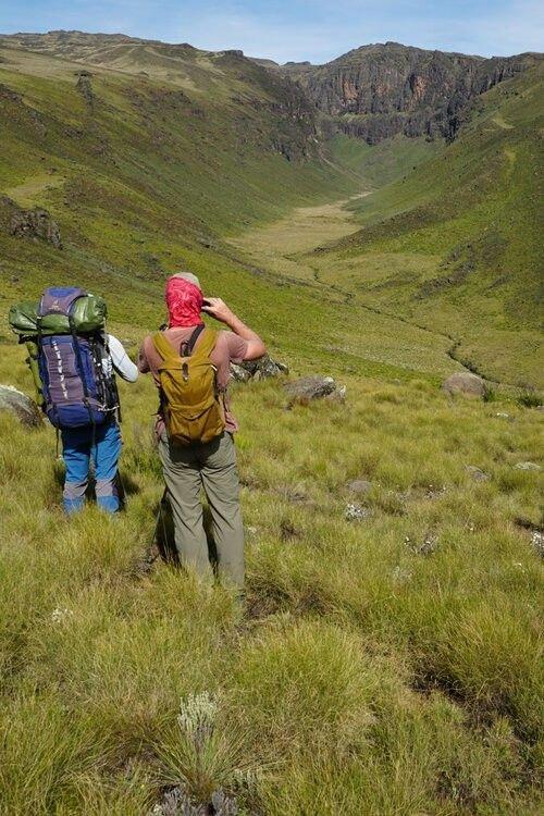 Trek sauvage au Mont Kenya