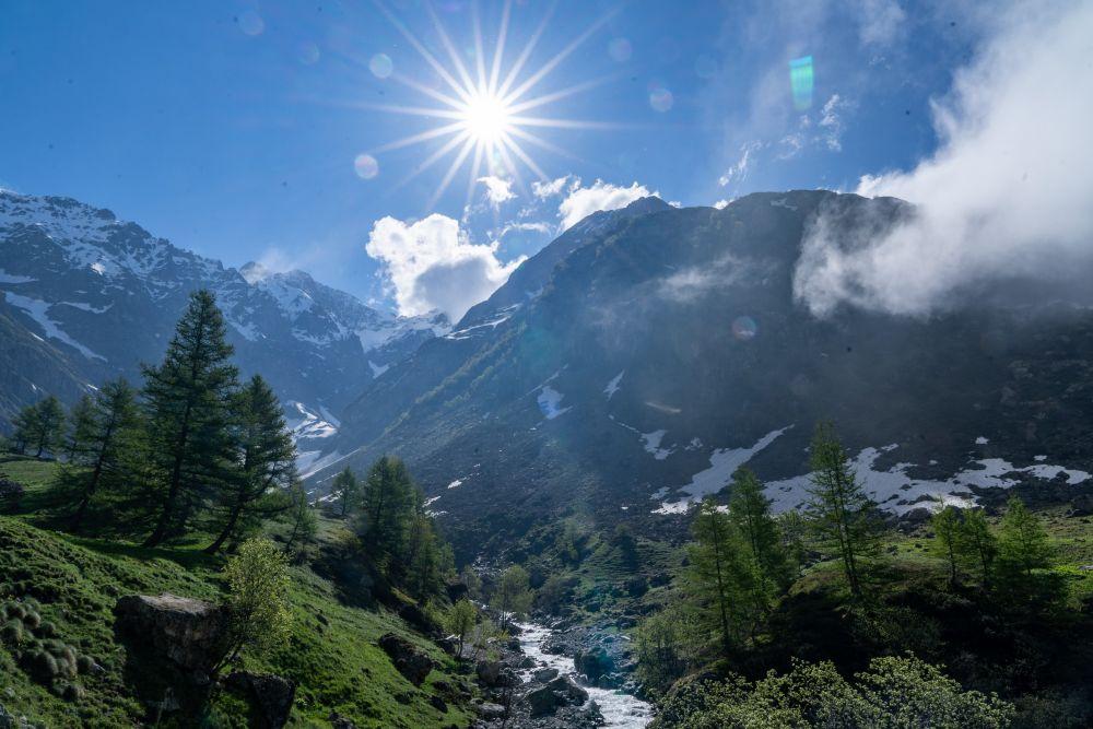 Séjour de randonne au Printemps dans les alpes du Sud