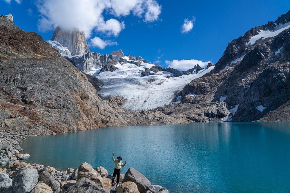 Randonnée au Fitz Roy lors de ce voyage en Patagonie