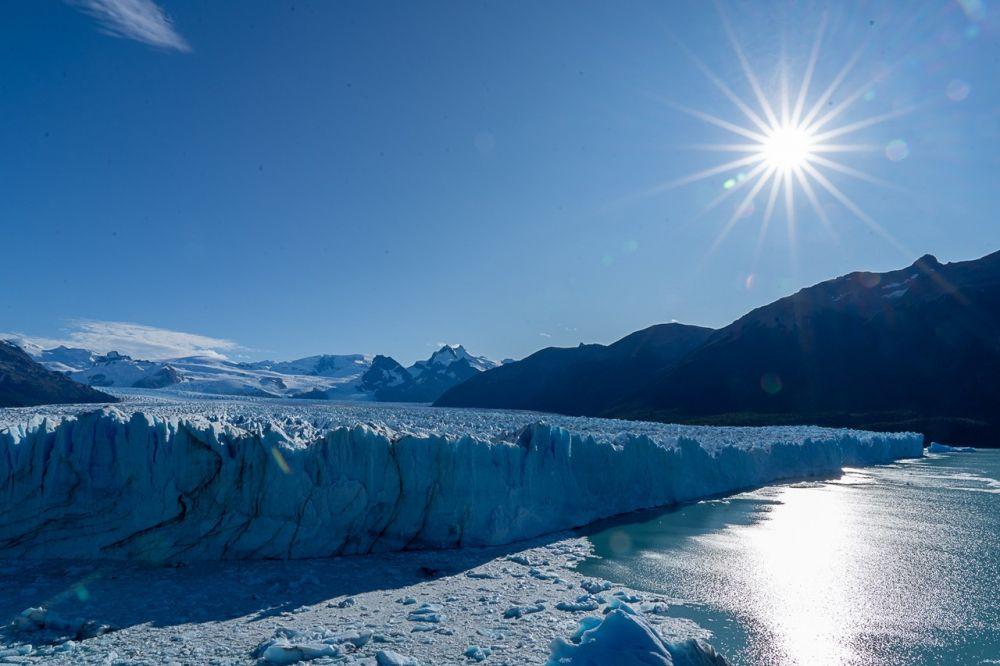 Glacier Perito Moreno, lors de ce voyage en Patagonie - Argentine