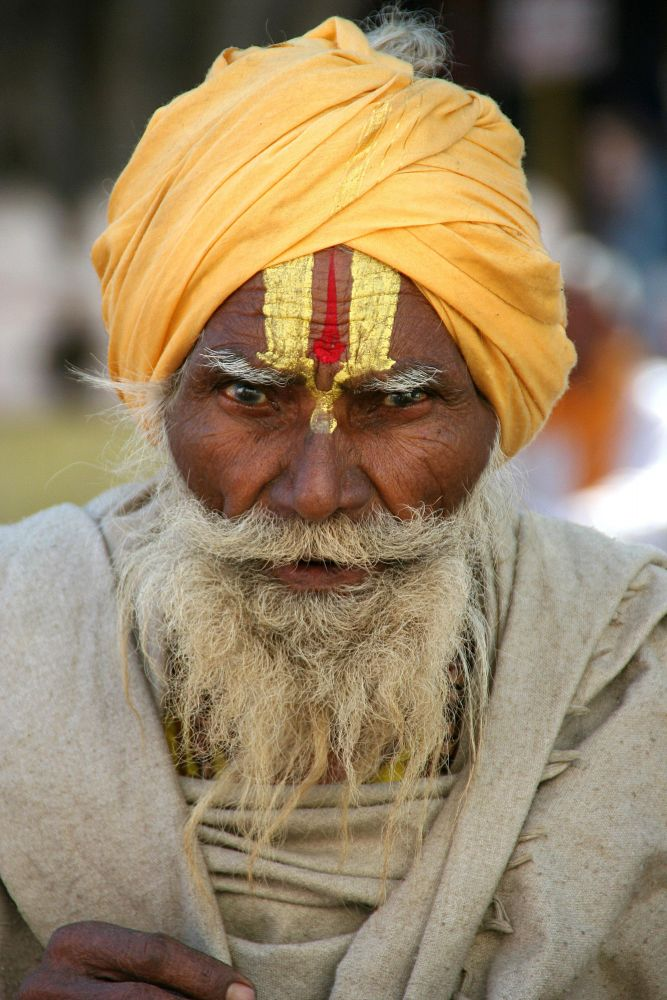 Sadhu à Varanasi, Inde