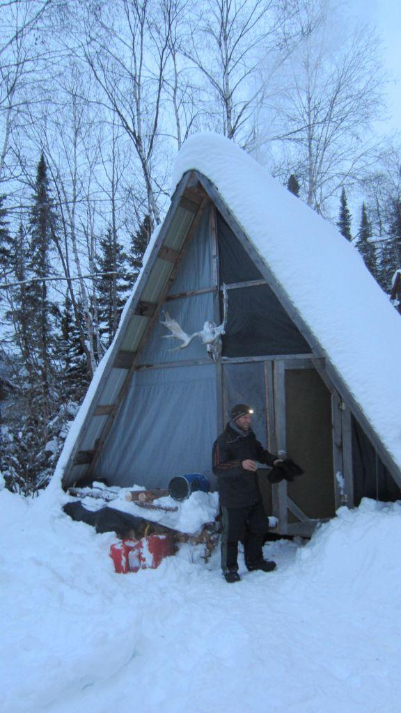 petite tente triangulaire