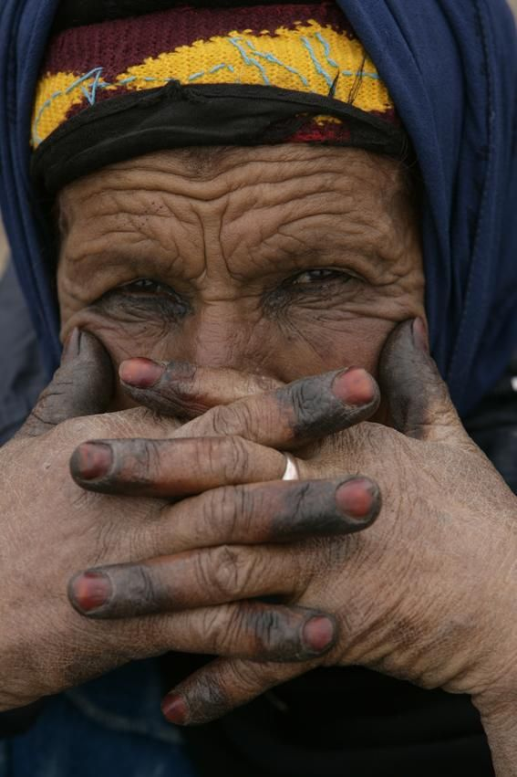 portrait d'un femme nomade
