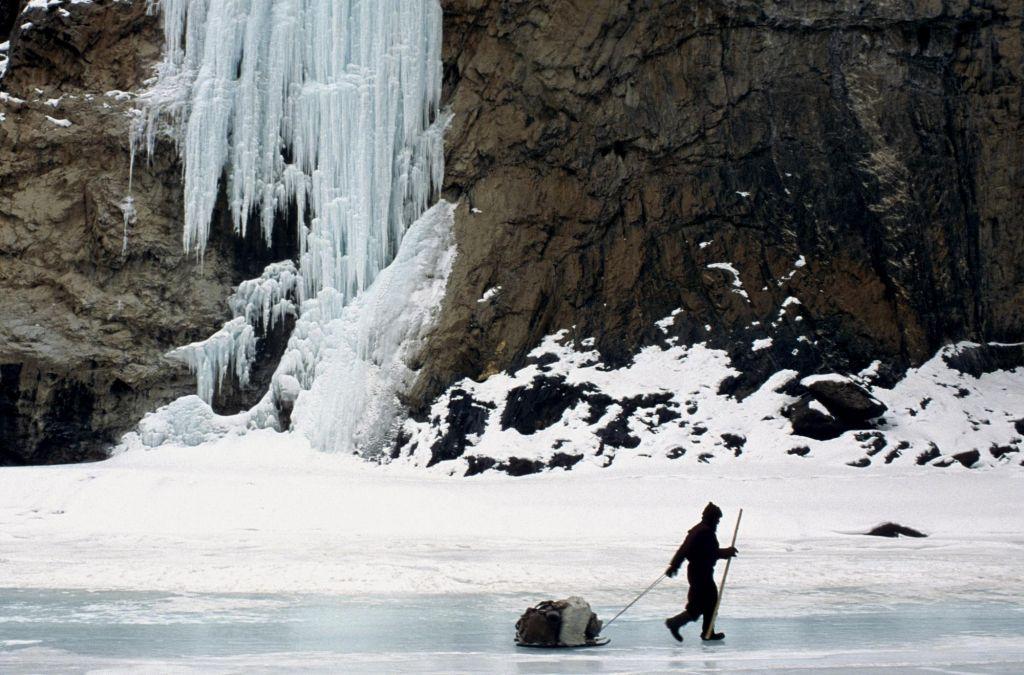 évolution sur les glaces de la chadar