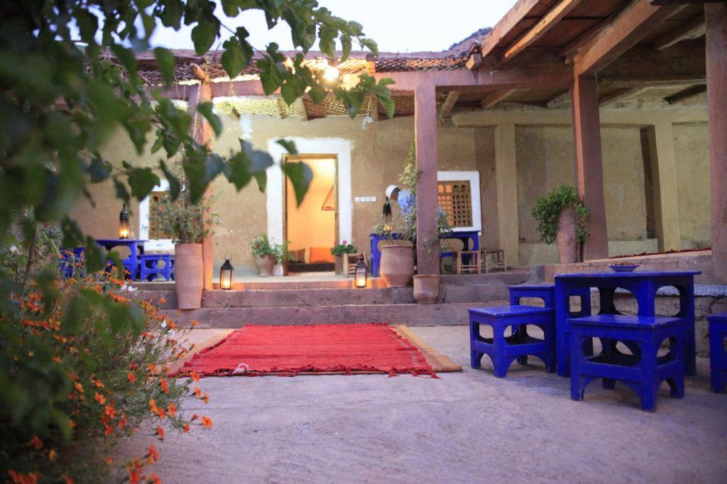 village typique de l'atlas marocain