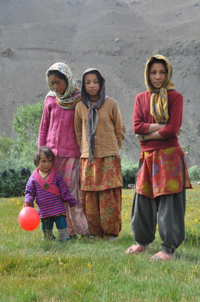 petit groupe d'enfants ladakh i