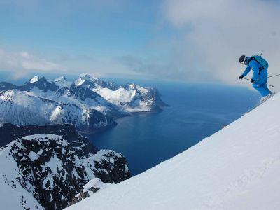 Ski de Randonnée sur l'île de Senja
