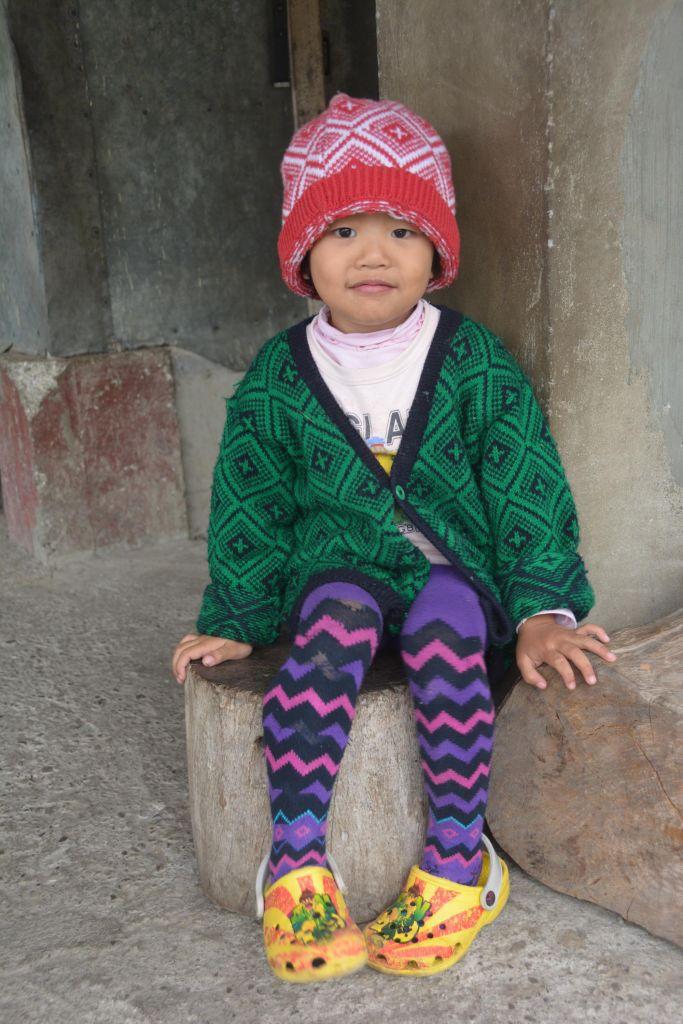 jeune fille Ifugao à Batad