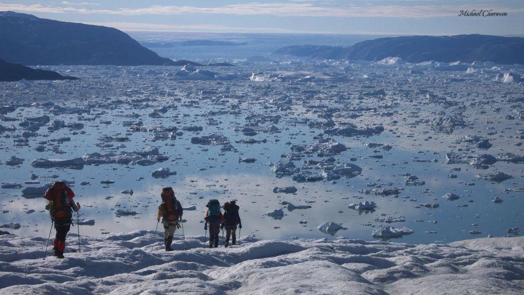 Trek au Schweizerland au Groenland