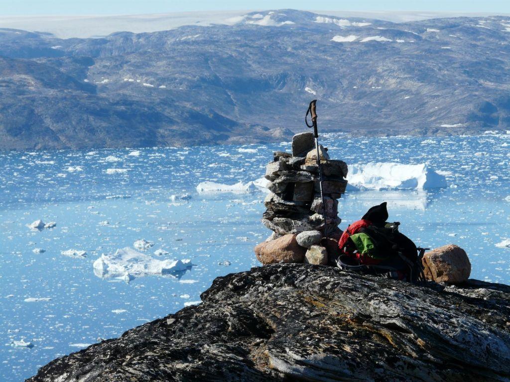 Cairn au Groenland