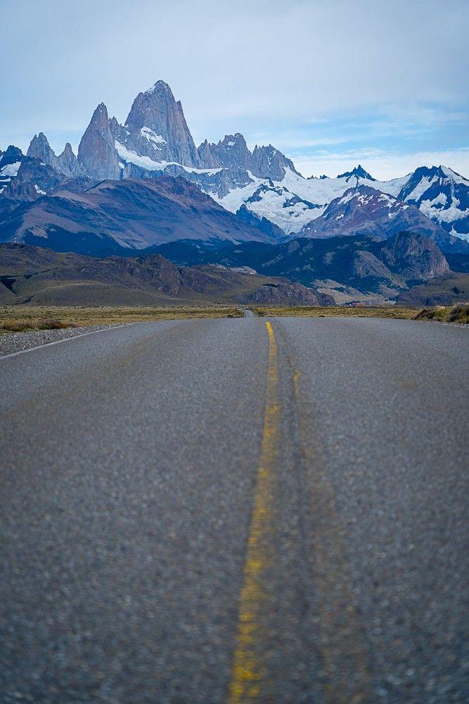 En route vers le Fitz Roy, en Patagonie