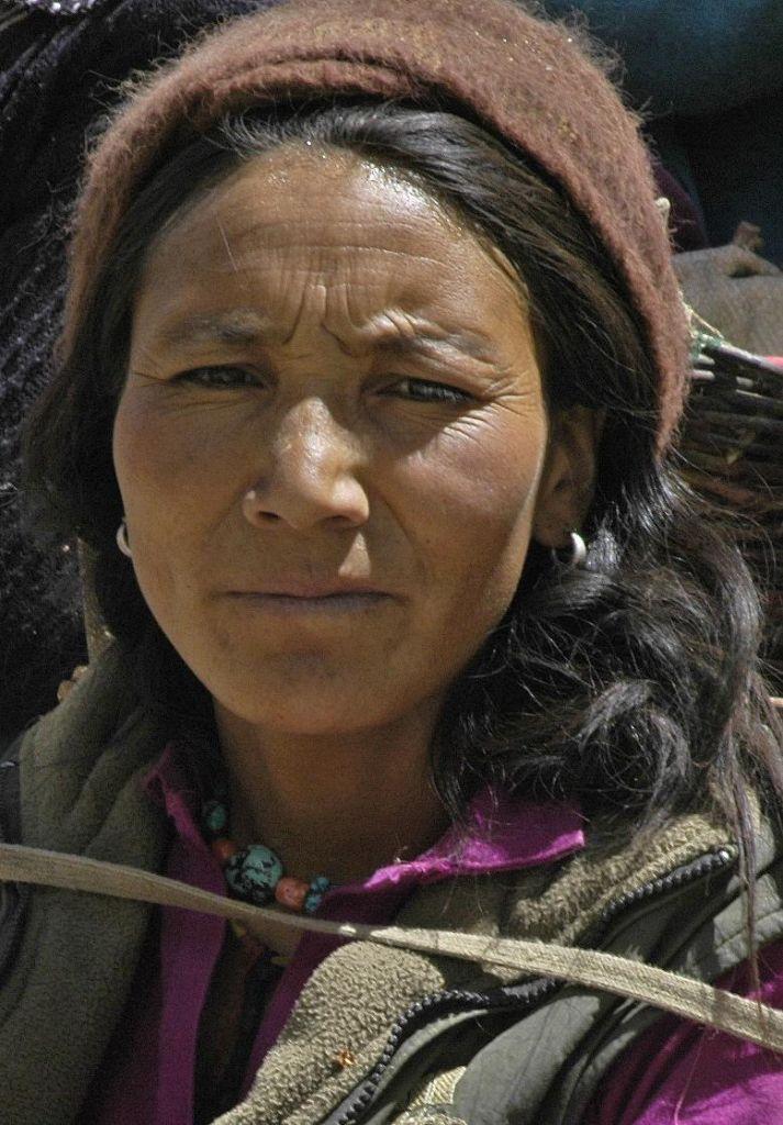 femme zanskari