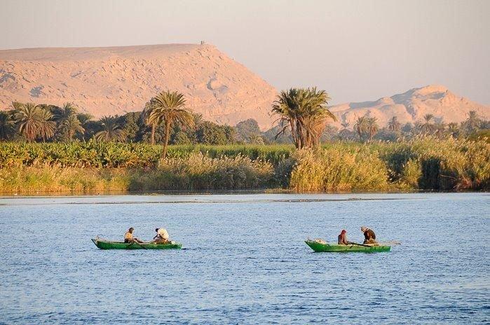 Au fil du Nil en Sandal