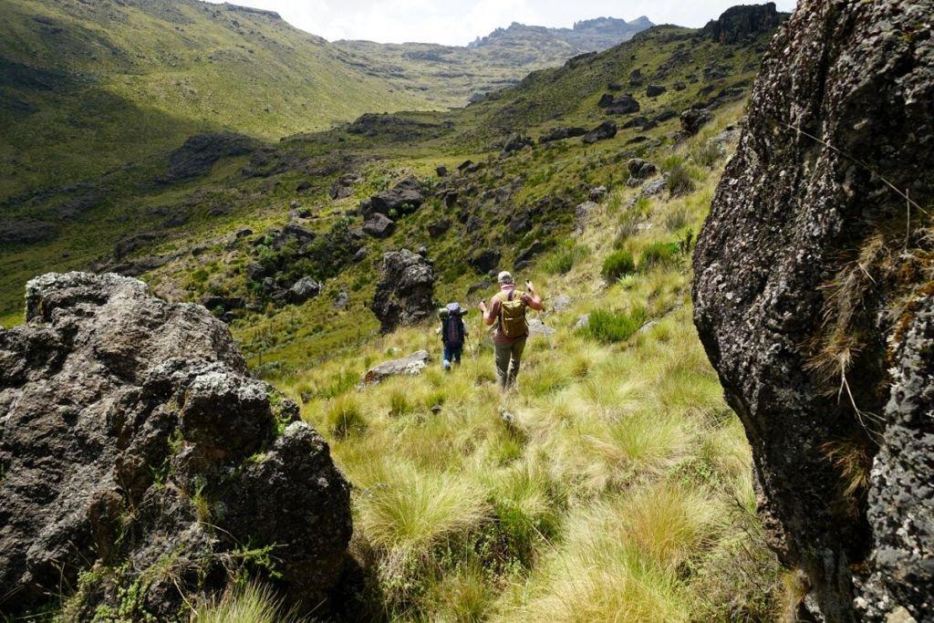 Trek au Mont Kenya